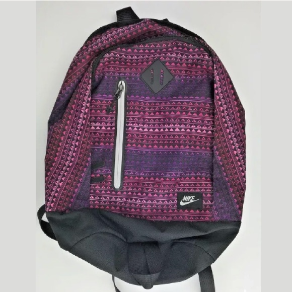 Nike Girls Pink Purple Geometric Backpack Bookbag.  M 5b606bf2d365be164c96355b